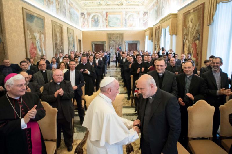 Udienza alla Comunità del Pontificio Seminario Campano di Posillipo