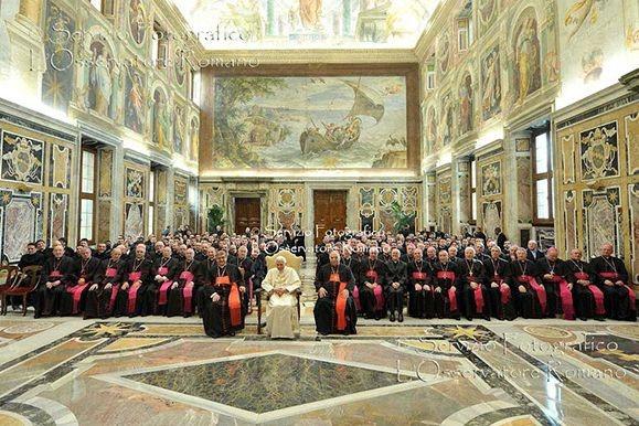 Il seminario di Posillipo in udienza da Benedetto XVI