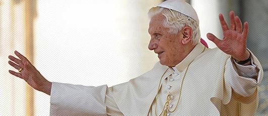 Veglia di ringraziamento per Papa Benedetto
