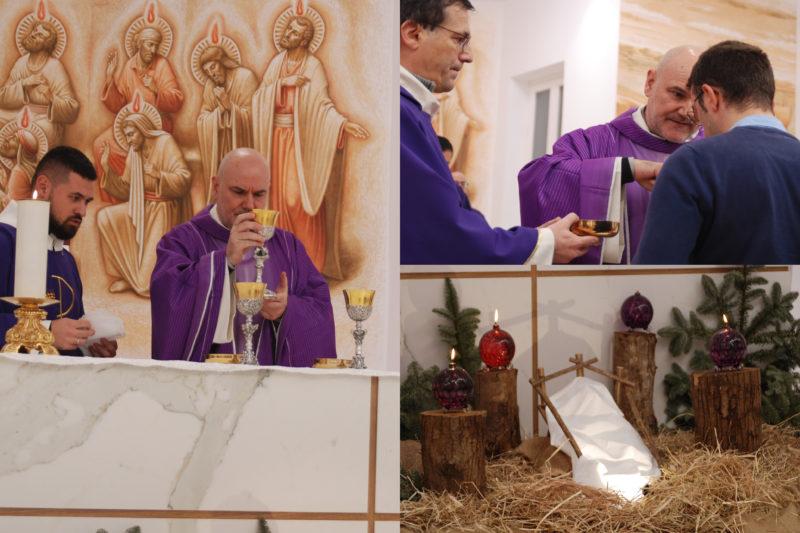 Celebrazione Eucaristica prima del Natale – 20/12/2018