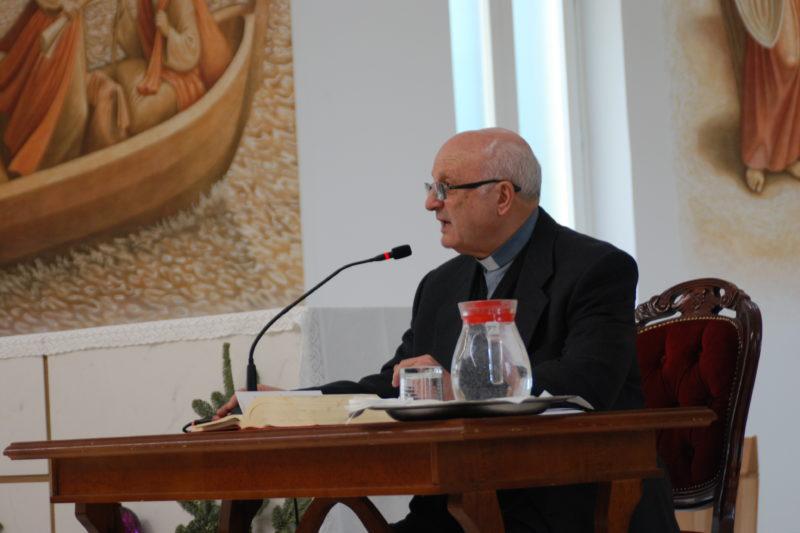 """""""FISSANDO LO SGUARDO…"""" – RITIRO DI AVVENTO guidato da padre Beniamino Depalma C.M., vescovo emerito di Nola."""