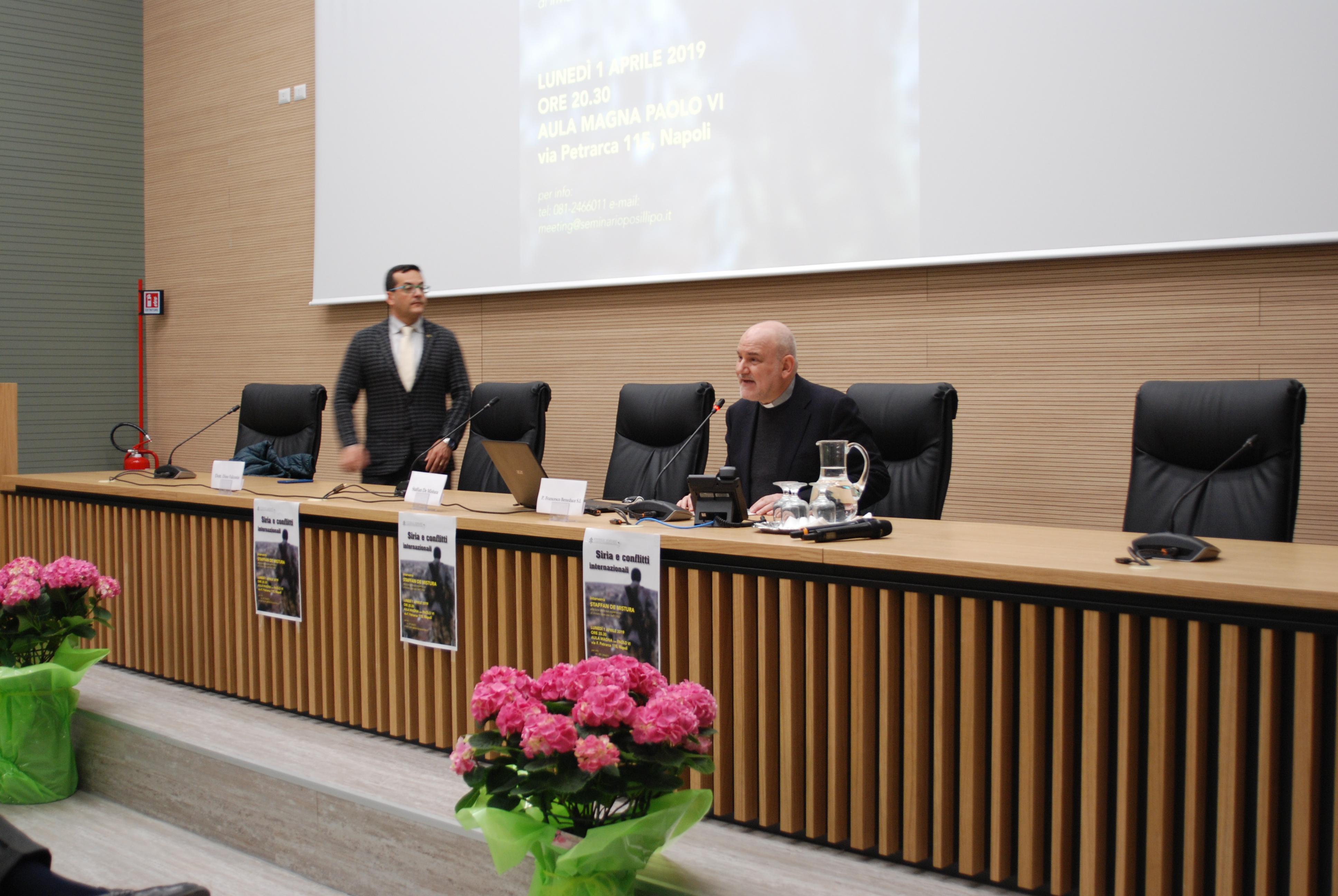 Staffan de Mistura in seminario (10)
