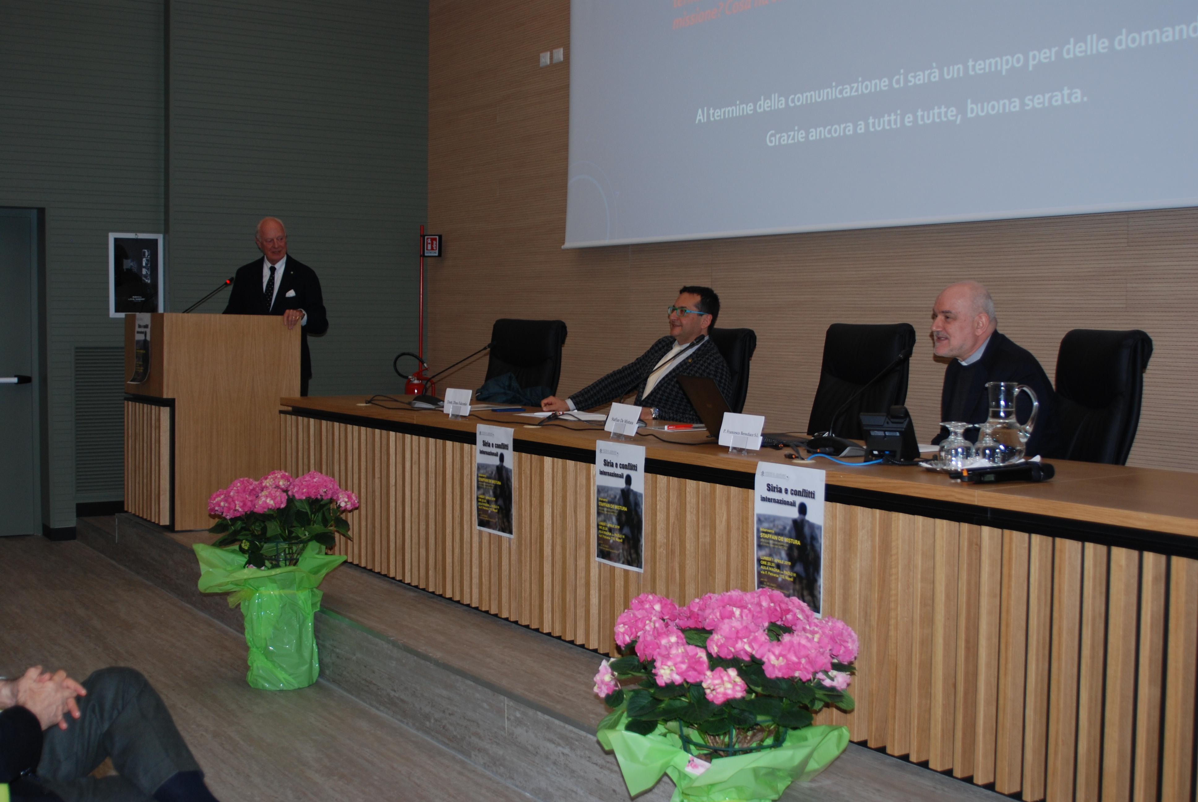 Staffan de Mistura in seminario (25)