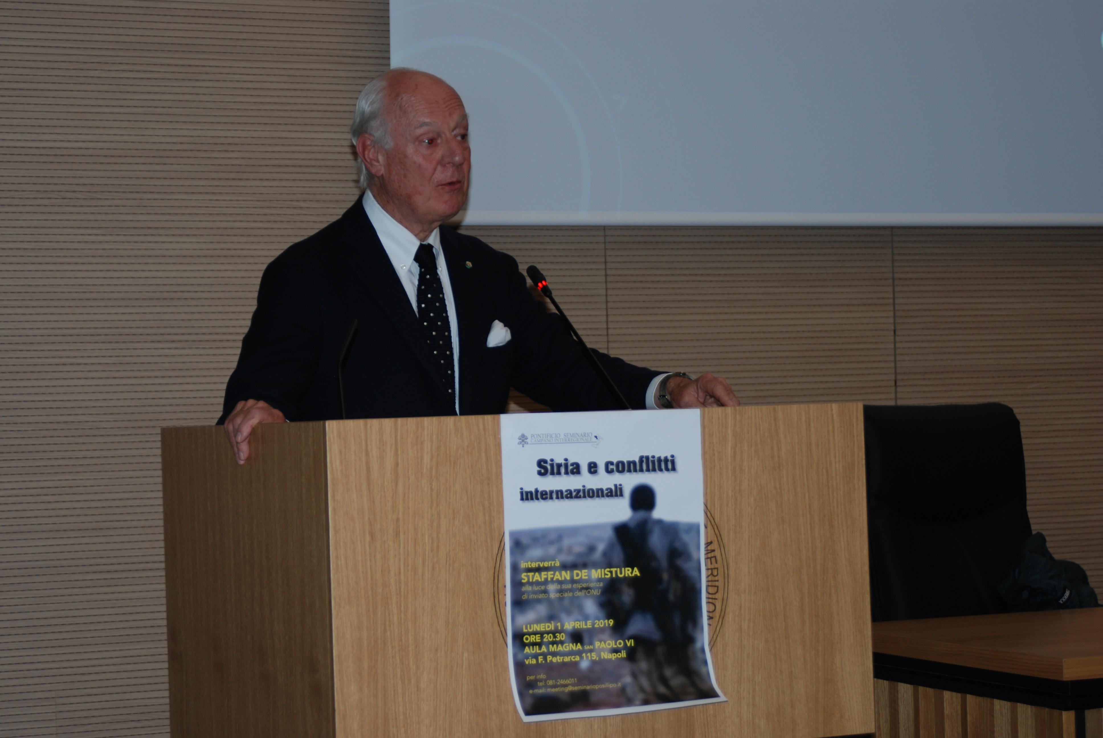 Staffan de Mistura in seminario (28)
