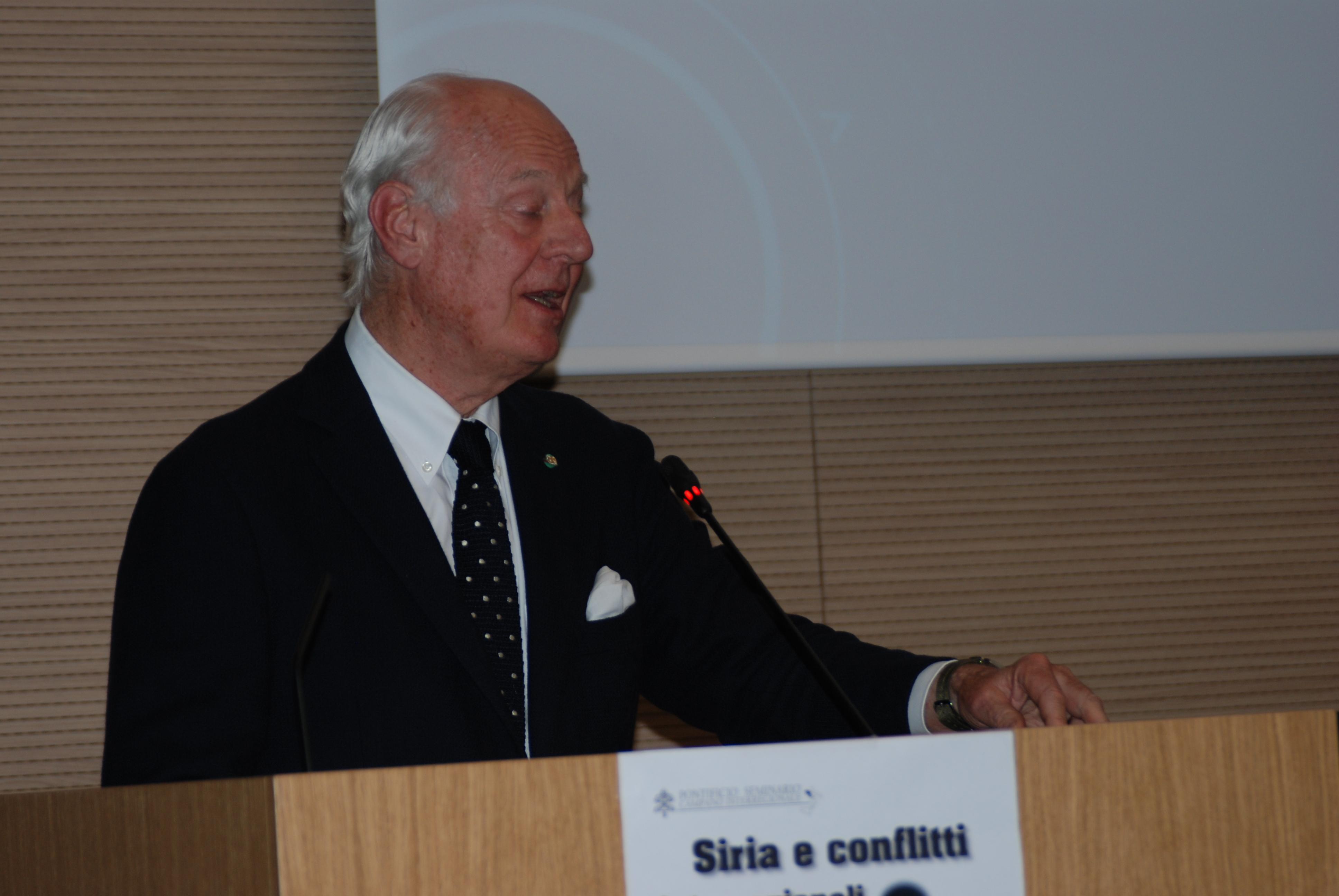 Staffan de Mistura in seminario (32)