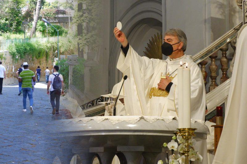 Pellegrinaggio mariano 2021: «Oggi e domani ragazzi Il Signore non ci vuole perfetti. Il Signore ci vuole autentici».